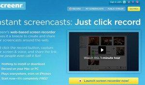 Classroom screencasting #1