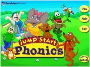 Game Jump Start Phonics #1