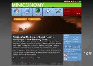 Game Miniconomy #1