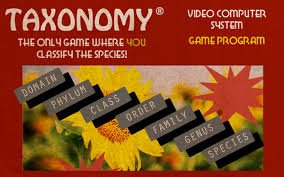 Game Taxonomy #1