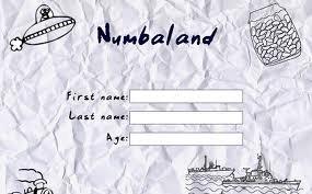 Numberland #1