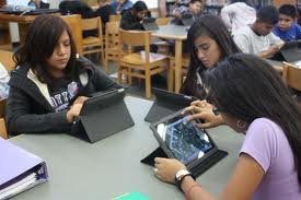Students with iPads #2