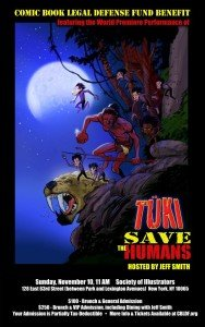 Tuki Saves the Humans