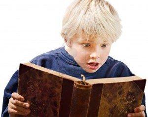 Boy's reading #1