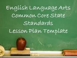 CCSS Lesson Plans #1
