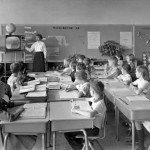 1950s Classroom TV
